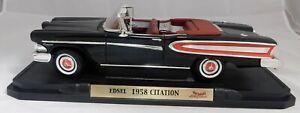 1958 EDSEL CITATION Convertible  ROAD LEGENDS 1:18 Scale Die Cast Car