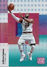 2017-18 Panini Status Aqua #28 LeBron James Cleveland Cavaliers