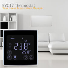 Digital LCD Thermostat Floor Wall Heating Temperature Controller w. Sensor