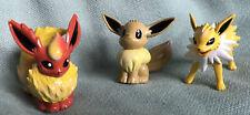 Pokemon Eeve & Electric & Fire Evolution Figures
