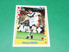 PANINI FOOTBALL SUPERFOOT 1998-1999 MICHEL PAVON GIRONDINS BORDEAUX LESCURE