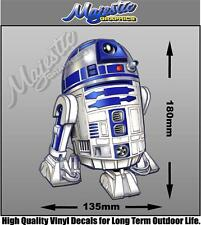 R2-D2 - DECAL - 180mm x 135mm - DECAL