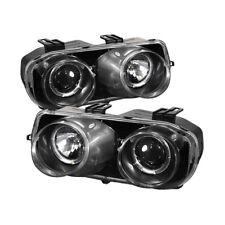 Acura 94-97 Integra Negro Halo Faros Proyectores 94 95 96 97 Compatible Todo