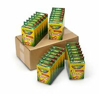 NEW Crayola Bulk Crayons 24 Packs of 24 ct. Classpack FREE SHIPPING