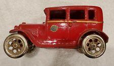 Arcade Toy cast iron Ford Model A Tudor #107, red, all original
