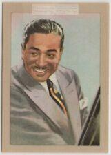 Duke Ellington  Big Band Jungle Style Jazz Vintage Trade Card
