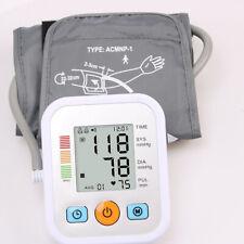 Automatic Upper Arm Digital Blood Pressure Monitor Pulse Meter BP Cuff Machine