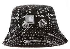 Carhartt WIP x Slam Jam 25th Anniversary Bandana Bucket Hat Black