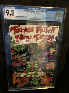 Teenage Mutant Ninja Turtles #40 cgc 9.8 WP