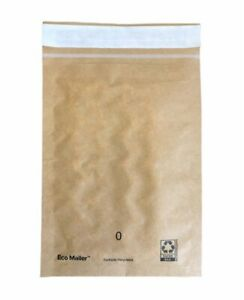 """100 7""""x9"""" Recyclable Padded Mailers Eco Friendly Envelopes Self Seal Tear Strip"""