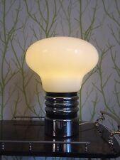 XL Glas Bulb Table Lamp 60s 70s Glühbirnen Tischleuchte 60er 70er Design Italy?