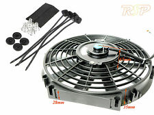 """14"""" 12v Universal Fan Use on Kit/Project Car Mount direct on Radiator Core S"""