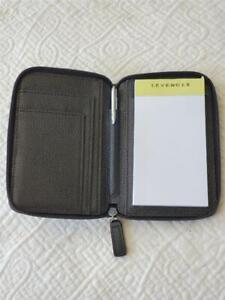 (L10) VINTAGE LEVENGER PEN PAD & CARD CASE