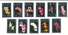 Jersey-Orchids 2 sets mnh-Flowers-complete (5 + 6)