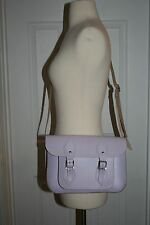 THE CAMBRIDGE SATCHEL COMPANY SMALL LEATHER SATCHEL LAVENDER