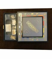 Monopoly Luxe Luxury Edition ~ Blue And Gold *Limited Edition* NEW