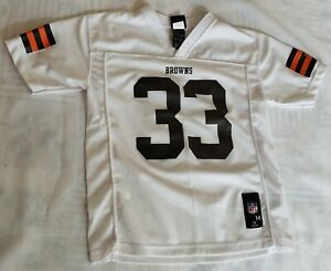 """Cleveland Browns """"Richardson 33"""" NFL/Nike Football Jersey size Youth M (10/12)"""