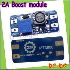 DC step up converter boost 2A power supply module IN 2V- 24V to OUT 5V-28V