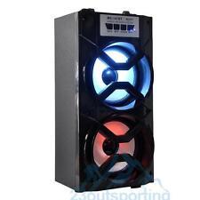 Portable Bluetooth Speaker x2 Outdoor Wireless Stereo Super Bass USB/TF/AUX/FM