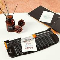A4 Photo Paper Cutter Rotary Guillotine Card Trimmer Ruler Office Art Heavy Duty