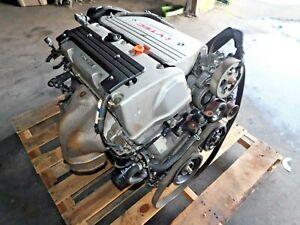 JDM Honda K24A3 Engine & 5 SPEED MT TRANSMISION RBB Acura TSX  iVTEC 2.4 200HP