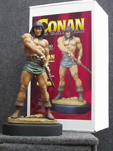 Hard Hero Conan Statue by Seth Vandable Signed MIB New Never Displayed