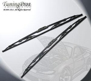 "OEM Metal Frame Windshield Wiper Blades 2 pc(21"" Inch Driver 21"" Passenger Side)"