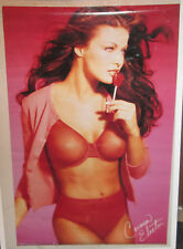 CARMEN ELECTRA VINTAGE POSTER PLAYBOY SUPER MODEL HOT SEXY RARE  2001 LOLLIPOP