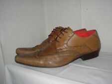 BUFFALO LONDON Chaussures Richelieu Cuir marron P.43