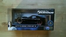 FAST & FURIOUS Lettys Dodge Viper SRT 10  1/24 SCALE OPENING FEATURES 30731