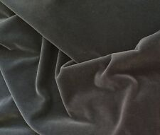DONGHIA Mohair Velvet Pacific smooth grey mohair cotton plain Netherlands 2+ yar