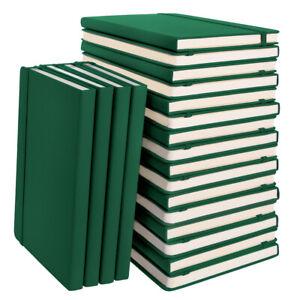 "20pk Simply Genius A5 Leatherette Dot Grid Journal Bullet Notebook 5.7"" x 8.4"""