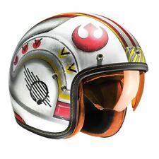 HJC FG-70S Star Wars Fighter Piloto Moto Casco de motocicleta de cara abierta X-Wing