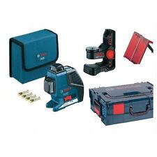 BOSCH GLL 3-80 P Multi-Linienlaser Professional + BM 1 Stativ + L-BOXX +  Klemme