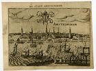 Antique Print-AMSTERDAM-NETHERLANDS-Guicciardini-1613