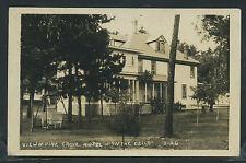 WI Wisconsin Dells RPPC 1931 PINE GROVE HOTEL in THE DELLS Columbia Co.  2-26