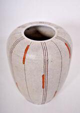 50s Atelier Huber Roethe Landshut  Floor Vase Studio Keramik vaso florero
