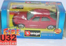 BURAGO STREET FIRE 1/43 BMW 535I  DIE CAST