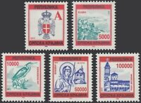 Kroatien - Serbische Krajina 1993 ☀ Mi.Nr. 12/16  ☀ Postfrisch (**)