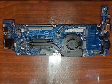 Dell 7380 i7-7600U Motherboard Logic Board