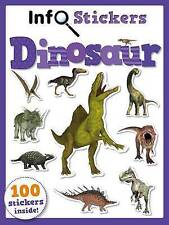Info Stickers Dinosaurs, Excellent Condition Book, Autumn Publishing, ISBN 97817