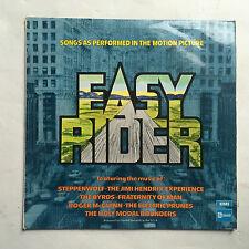 EASY RIDER - VARIOUS * LP VINYL * FREE P&P UK * STATESIDE SSL 5018 * SOUNDTRACK