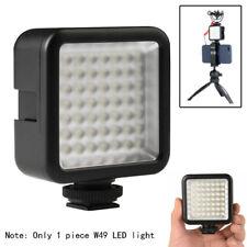 W49 Kamera LED Videoleuchte Panel Lampe Blitzschuh Basis Für Kamera / Smartphone