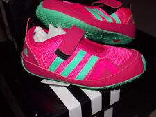 "adidas Mädchen Turnschuh Klettverschluß Gr. 25 1/2 (UK 8K) rosa ""Boat AC I """