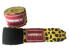 """180"""" MMA HAND WRAPS - Mexican Elastic Cotton Boxing Wrist New PAIR lapperd"""