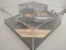 1/43 WILLIAMS RENAULT FW15 B D. HILL FORMULA 1 F1 ONYX ESCALA SCALE DIECAST