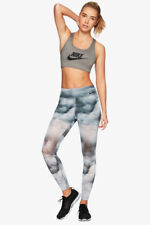 Nike Women's Power Legendary Printed Mid Rise Training Tights Size XS 873067-010