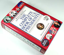 THE COMPLETE BOOK OF U.S.PRESIDENTS BOOK SIGNED BY CLINTON & BUSH - BRAND NEW