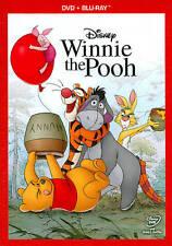Winnie the Pooh (Blu-ray/DVD, 2011, 2-Disc Set) w/slipcover (NEW)