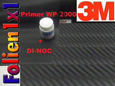 132,67€/qm 60 cm x 25 cm 3M™ DI-NOC CA-421 Carbon Folie schwarz 3M Primer gratis